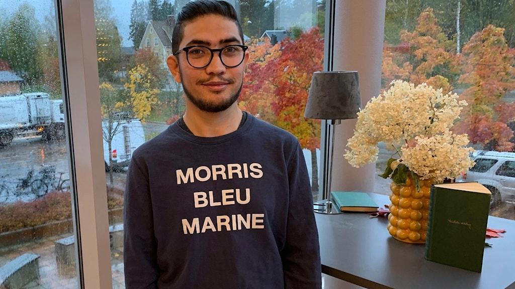 Nowroz Hosseini kom ensam till Sverige år 2015.