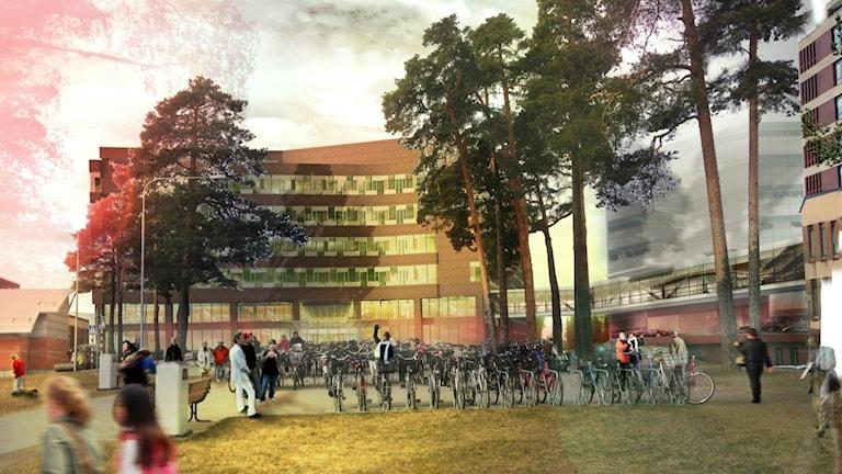 Så här kan det se ut i framtiden på Gävle sjukhus
