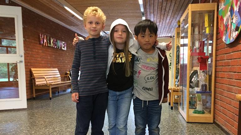 Barn i skolan.