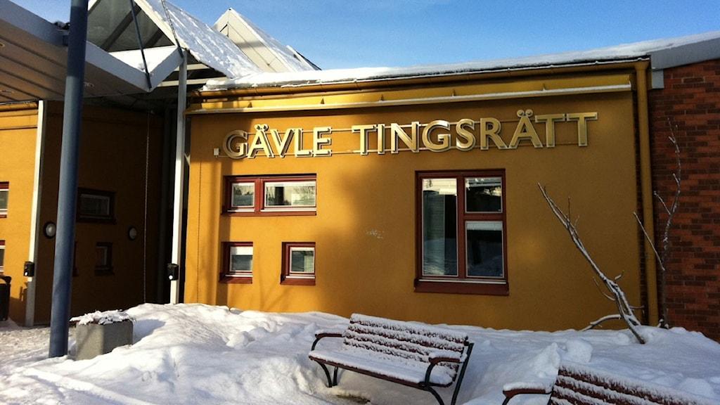 Gävle Tingsrätt. Foto: Martin Svensson / Sveriges Radio