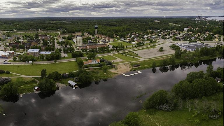 Nya bostäder byggs i centrala Skutskär.
