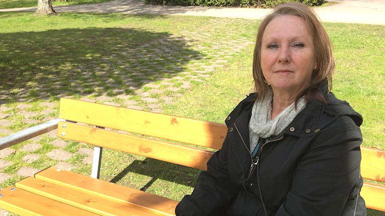 Berith Wiklund ordförande Sköldkörtelförbundet Gävleborg.