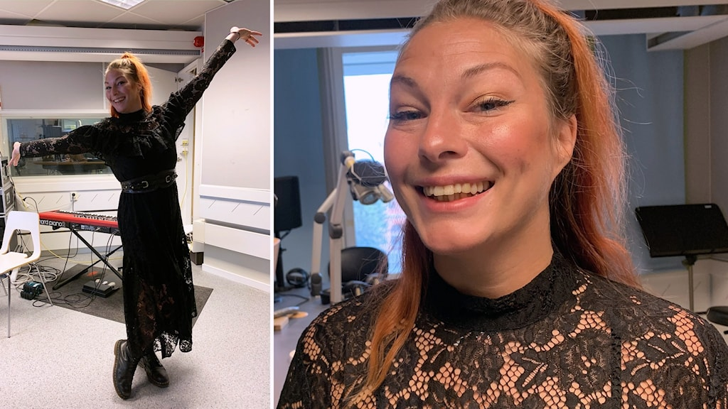 Erika O'Neill har i uppdrag av Region Gävleborg tolkat coronapandemin med dans.