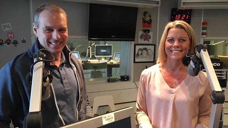 Lasse Molin och Lina Lindh.