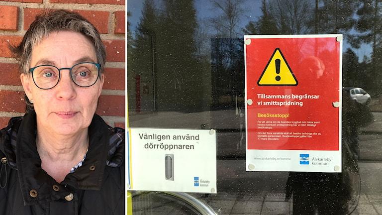 Britta Gustavsson är mediciniskt ansvarig sjuksköterska på Älvkarleby
