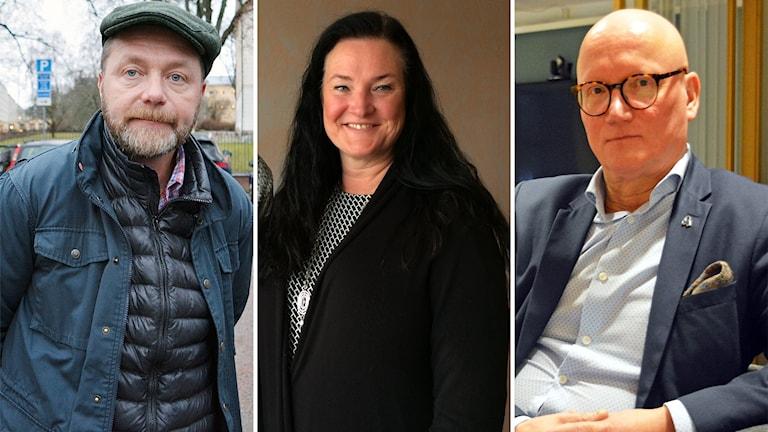 Magnus Jonsson i Ockelbo, Katarina Ivarsson i Hofors och Tomas Hartikainen i Gävle är alla förberedda på en eventuell nedstängning av grundskolan i skuggan av Coronaepidemin.