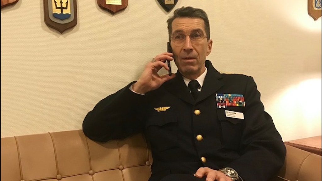 Micael Bydén Överbefälhavare Gnarp Sverige Hälsingland Militär Säkerhet