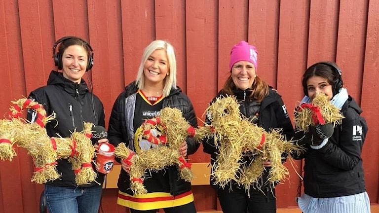 Brynäs Caroline Markström som tog hem bocktävlingen, Natalie Gerami blev tvåa, Catrin Landén trea och Wenda Hajo fyra.