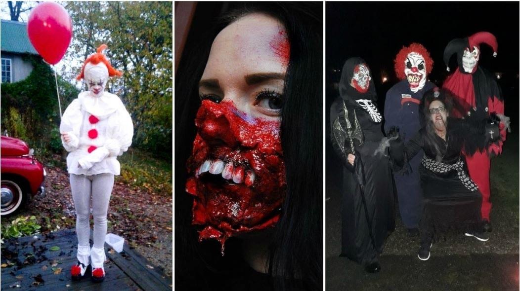 Laskiga Halloween Sminkningar.Bildspel Se Lyssnarnas Basta Halloween Utkladnader Har P4