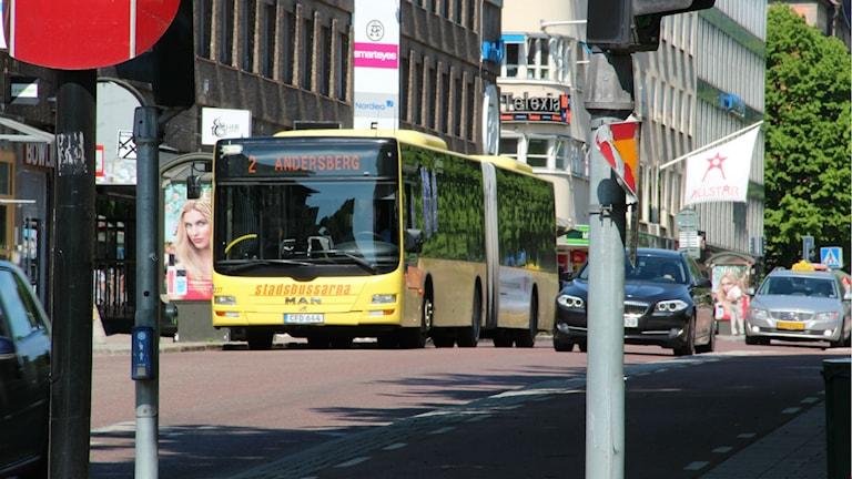 Stadstrafik i Gävle