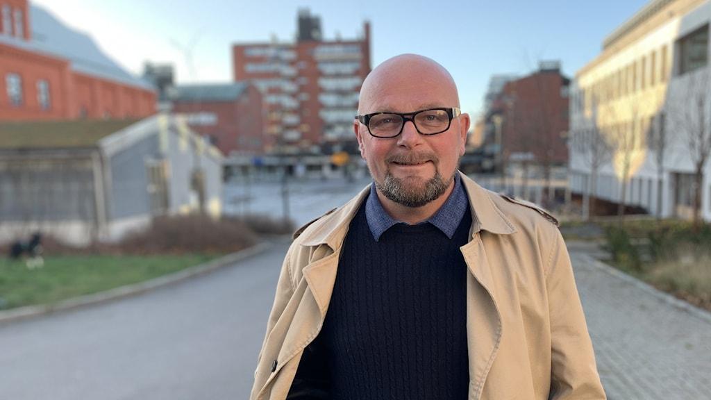 Per-Ola Grönberg, liberal och kommunalråd i Sandviken
