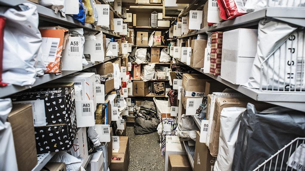 Paketutlämning