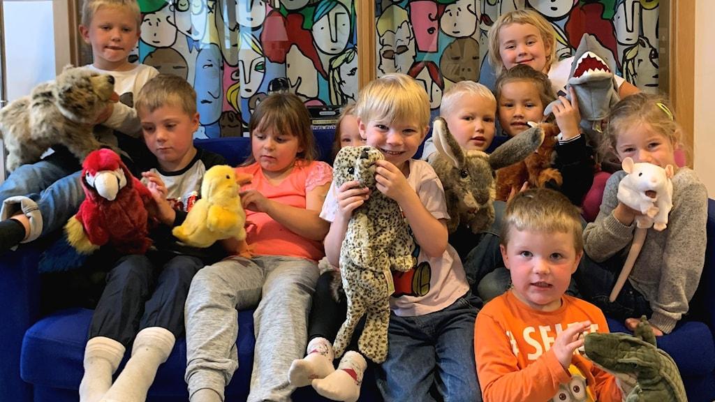 Hilda Gustafsson, Wigge Olsson-Asp, Åskar Lindström, Fritz Larsson-Snygg, Julie Hallstensson, Katarina Häggeborg, Emilia Hellsén, Oliver Jonsson, Eddie Olsson och Ester Unger.